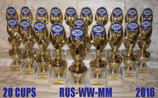 Cups of RUS-WW-MM 2016