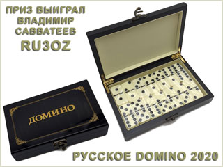 Prize of RUSSIAN DOMINO 2020