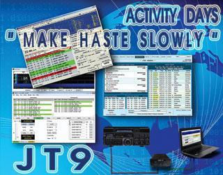 JT9 Activity Days «Make haste slowly»