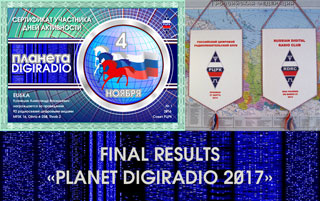 "Final results of Activity Day RDRC ""Planet DIGIRADIO 2017"""