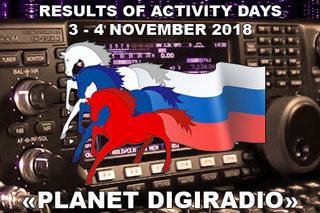 "Final results of Activity Days RDRC ""Planet DIGIRADIO 2018"""